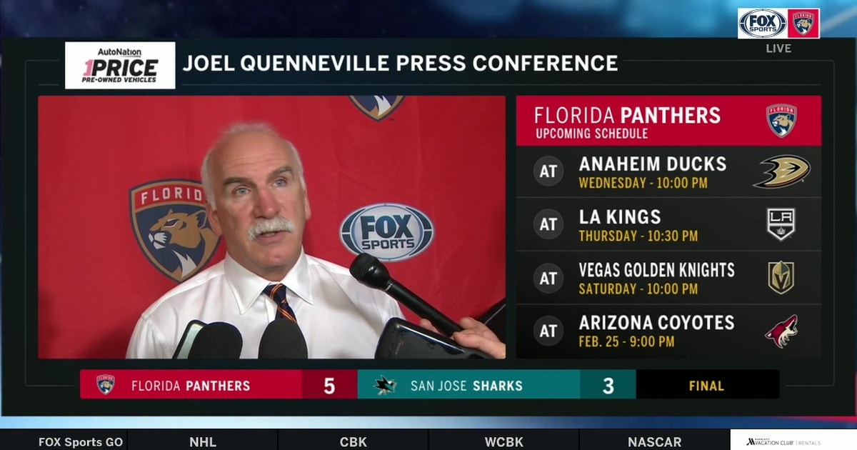 Joel Quenneville: 'I thought we had real balance in our game' (VIDEO)