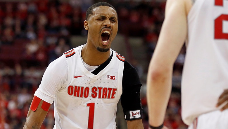 No. 25 Ohio State snaps No. 7 Maryland's nine-game win streak with 79-72 victory