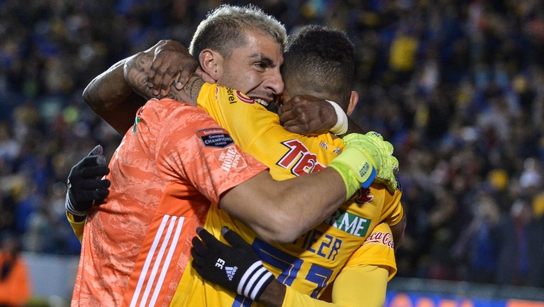 Goalkeeper Nahuel Guzmán's wild goal sends Tigres to Concacaf Champions League quarters