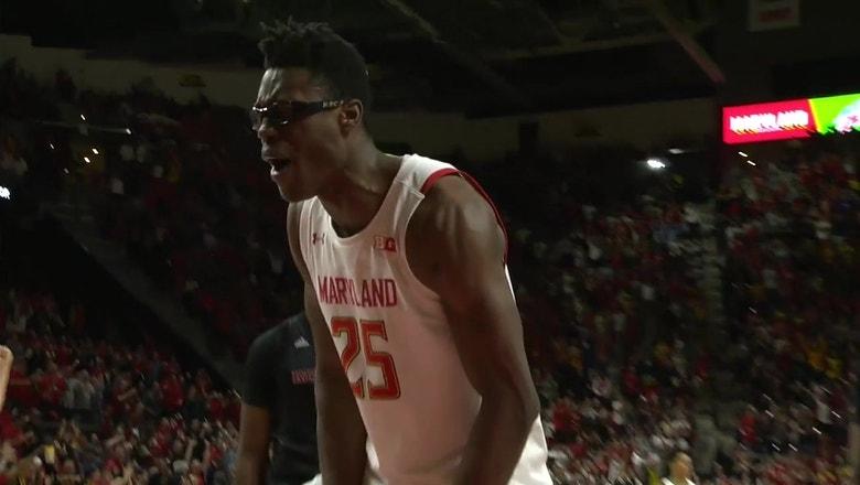 No. 9 Maryland slams door on Rutgers for 56-51 win