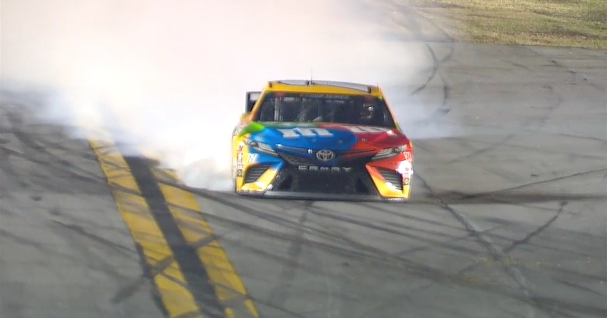 Defending NASCAR Cup series champ Kyle Busch gets knocked into the wall and out of the race at the 2020 Daytona 500 (VIDEO)