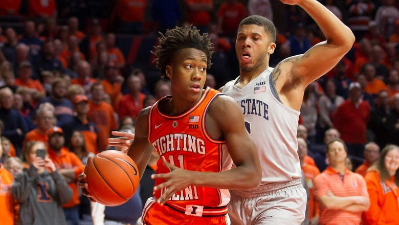 Ayo Dosunmu drills late dagger to lift Illinois to road win over No. 9 Penn State