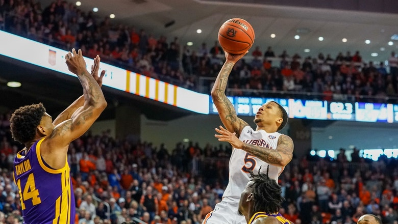 No. 11 Auburn's last-second floater defeats LSU in overtime thriller