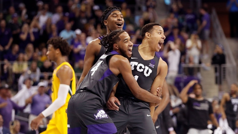 TCU knocks off No. 2 Baylor behind lights-out second half performance by Desmond Bane