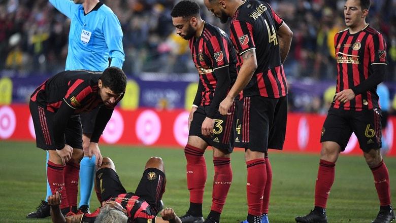 Atlanta United tops Nashville SC 2-1, but loses Josef Martinez to injury