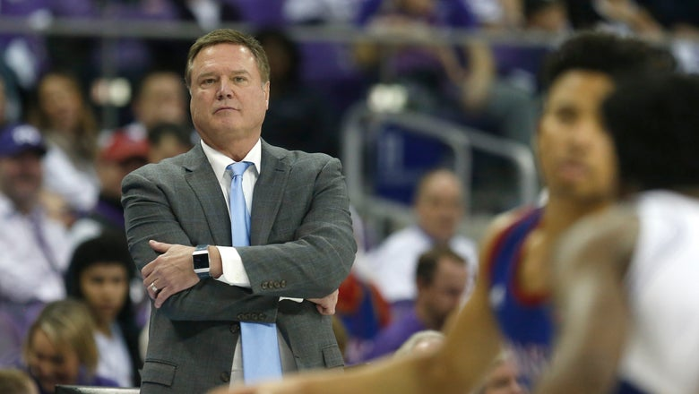 Azubuike powers No. 3 Kansas past TCU 60-46