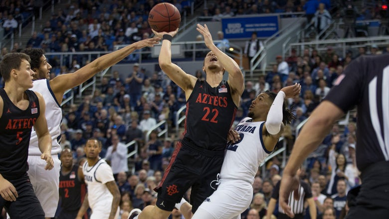 No. 5 San Diego St. overcomes 2nd-half deficit, tops Nevada