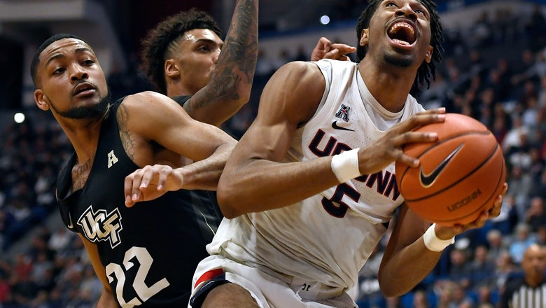 UConn beats UCF to avoid fourth straight losing season