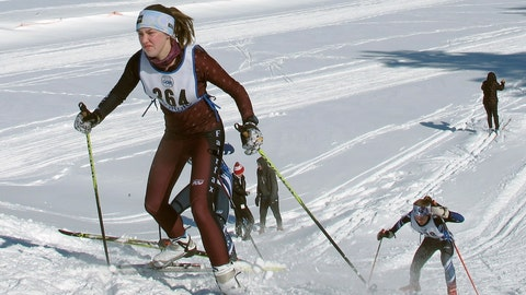 <p>               In this Feb. 8, 2020, photo, cross-country skiers from around Vermont compete in races at U-32 Middle & High School in East Montpelier, Vt. The ski racing community worldwide is starting to back away from the use of fluorinated waxes that contain chemicals that pose threats to human health and impact the environment. (AP Photo/Lisa Rathke)             </p>