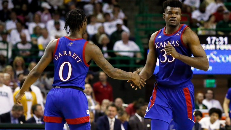 No. 3 Kansas ends No. 1 Baylor's run with 64-61 win in Waco