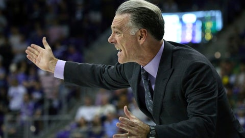 <p>               TCU head coach Jamie Dixon gestures from the sidelines during an NCAA college basketball game against Baylor on Saturday, Feb. 29, 2020 in Fort Worth, Texas. (AP Photo/Richard W. Rodriguez)             </p>