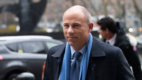 <p>               FILE - In this Dec. 17, 2019, file photo, California attorney Michael Avenatti arrives at federal court in New York. A California businessman who enlisted Avenatti to help his friend deal with two corrupt Nike executives testified Monday, Feb. 3, 2020, that he reacted with shock and horror when he learned the attorney was threatening to go public with his information. (AP Photo/Mark Lennihan, File)             </p>