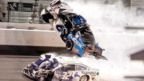 <p>               NASCAR Daytona 500 auto race at Daytona International Speedway, Monday, Feb. 17, 2020, in Daytona Beach, Fla. Sunday's race was postponed because of rain. (AP Photo/John Raoux)             </p>