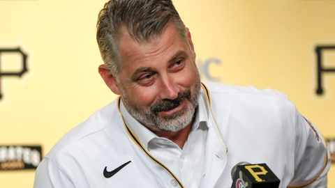 <p>               FILE —This file photo from Dec. 4, 2019 shows Derek Shelton as he takes questions during a news conference where he was introduced as the new manager of the Pittsburgh Pirates baseball team in Pittsburgh. The Pirates will have a fresh look in 2020, from their new alternate road uniforms to a totally overhauled front office. Most of the faces on the field, however, haven't changed much from the group that finished last in the NL Central. (AP Photo/Keith Srakocic, File)             </p>