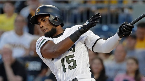 <p>               FILE - In this Sept. 5, 2019, file photo, Pittsburgh Pirates' Pablo Reyes drives in a run with a double off Miami Marlins starting pitcher Elieser Hernandez during the first inning of a baseball game in Pittsburgh. Reyes was suspended 80 games on Wednesday, Feb. 19, under the major league drug program following a positive test for the performance-enhancing drug Boldenone. He became the second player in three days suspended for Boldenone, which is sold under the brand name Equipose and is used commonly on horses. Houston pitcher Francis Martes was suspended for the 2020 season on Monday following a positive test for Boldenone, his second violation of the major league drug program. (AP Photo/Gene J. Puskar, File)             </p>