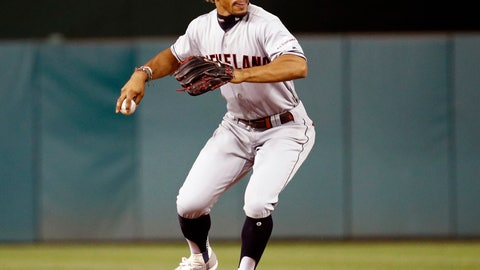 <p>               FILE - In this Friday, Sept. 27, 2019 file photo, Cleveland Indians shortstop Francisco Lindor throws out Washington Nationals' Adam Eaton at first base to end the eighth inning of a baseball game in Washington. Francisco Lindor's future with the Indians was already unclear and uncertain. The four-time All-Star shortstop, who has been the subject of trade rumors because Cleveland will probably never be able to offer him a long-term contract offer close to what he'll one day get as a free agent, made some contradictory comments while discussing his situation, Saturday, Feb. 1, 2020. (AP Photo/Patrick Semansky, File)             </p>