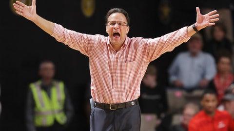 <p>               Georgia head coach Tom Crean yells to his players in the second half of an NCAA college basketball game against Vanderbilt Saturday, Feb. 22, 2020, in Nashville, Tenn. (AP Photo/Mark Humphrey)             </p>