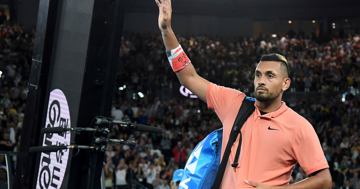 Kyrgios pulls out of New York Open with shoulder injury