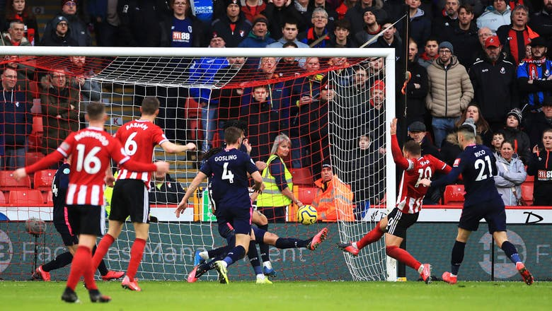 Sheffield United beats Bournemouth, Man City game called off