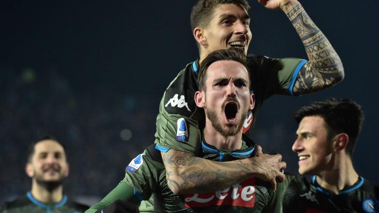 Before facing Barcelona, Napoli wins at Brescia 2-1