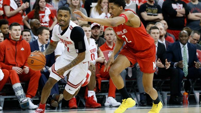 Muhammad helps No. 25 Ohio State end No. 7 Maryland's streak
