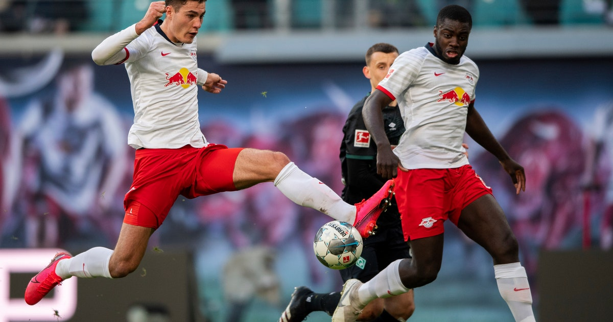 Leipzig back on top, Hertha wins 1st game without Klinsmann