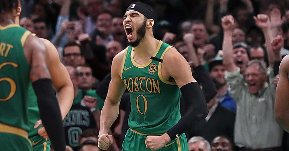 Jayson Tatum is ready to take over as the Boston Celtics' leading man