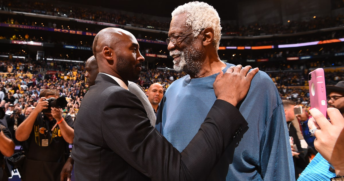 Bill Russell reminded us of Kobe Bryant's greatness on Sunday