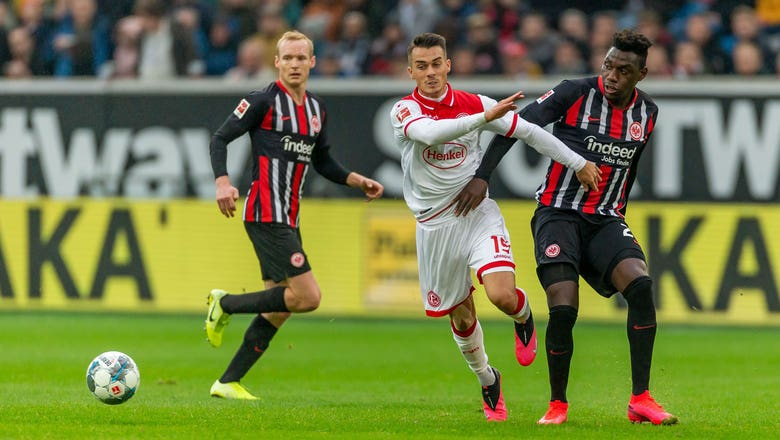 Fortuna Dusseldorf vs. Eintracht Frankfurt | 2020 Bundesliga Highlights
