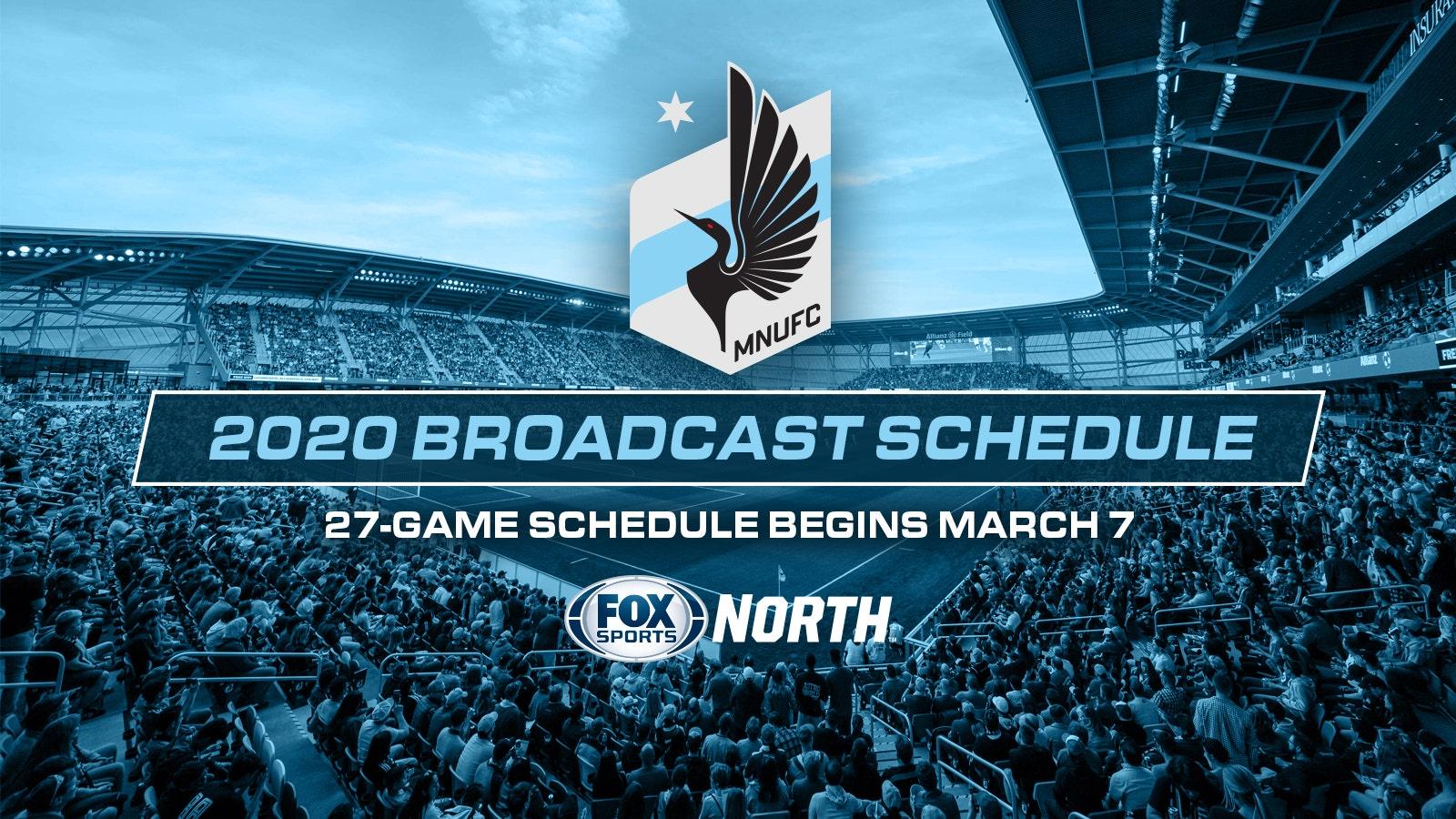 FOX Sports North announces 2020 Minnesota United TV schedule | FOX Sports