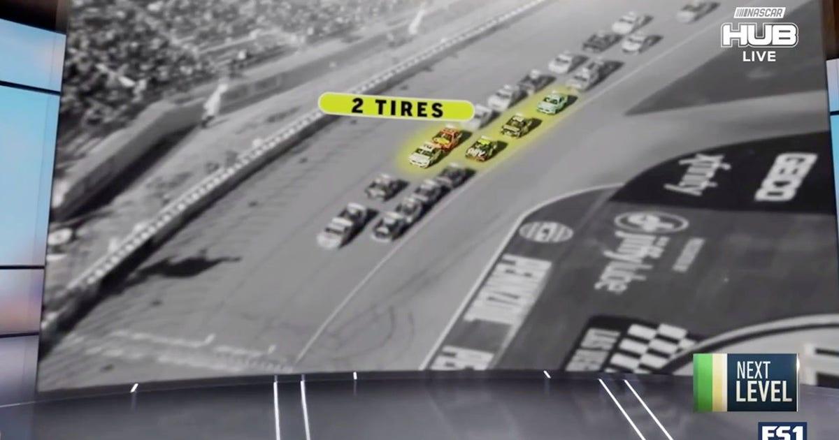 Brad Keselowski breaks down the final restart at Las Vegas Motor Speedway | NASCAR RACE HUB (VIDEO)