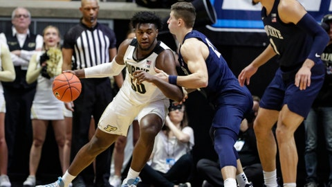 Purdue looks to extend streak vs No. 13 Penn State
