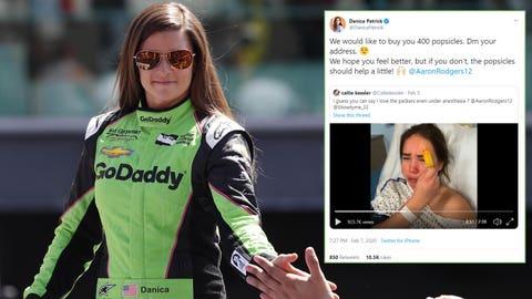 Danica Patrick, former professional race driver