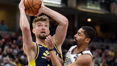 Pacers drop sixth straight in 106-105 loss to Nets