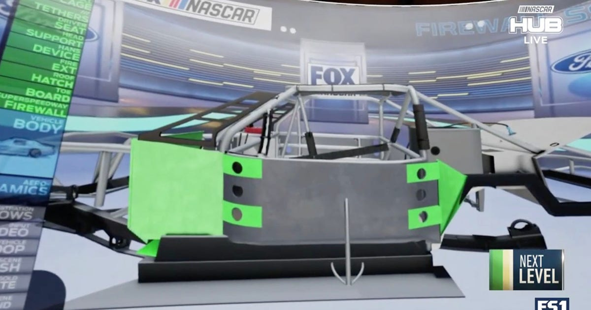 A closer look at the safety features inside a NASCAR Cup Series car (VIDEO)