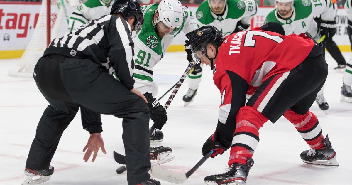 Seguin, Heiskanen with 2 points in Stars 4-3 OT loss to Senators