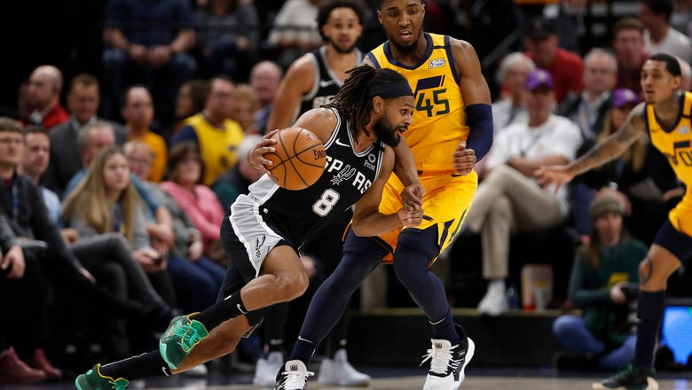 Murray leads balanced attack as Spurs top Jazz 113-104