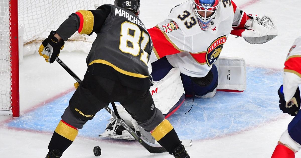 Vegas Golden Knights 5, Florida Panthers 3