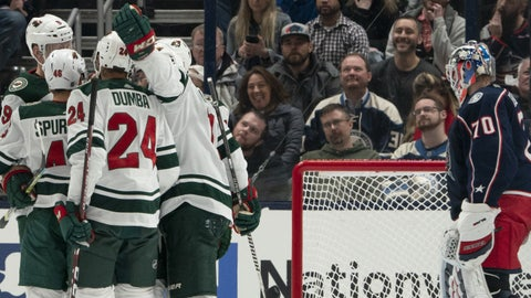 Minnesota Wild vs. Columbus Blue Jackets Prediction, Preview, and Odds