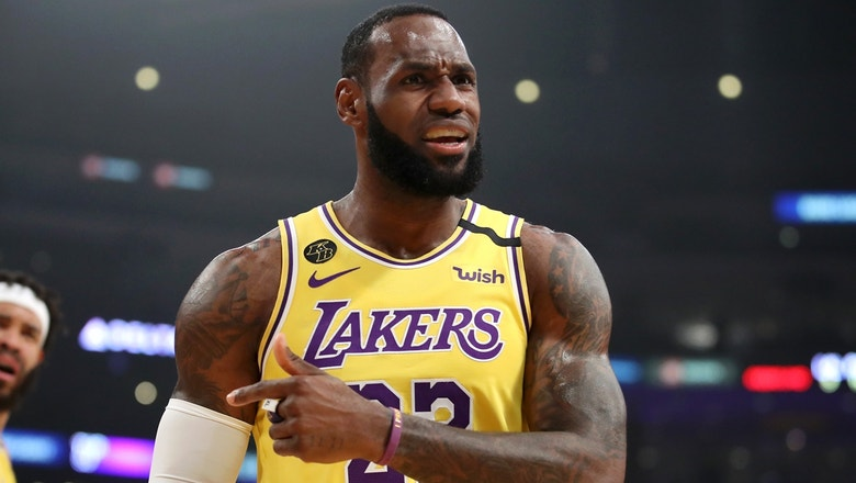 Skip Bayless: LeBron taking 3-pointers from the Lakers logo is selfish — 'won't make 20% of those'