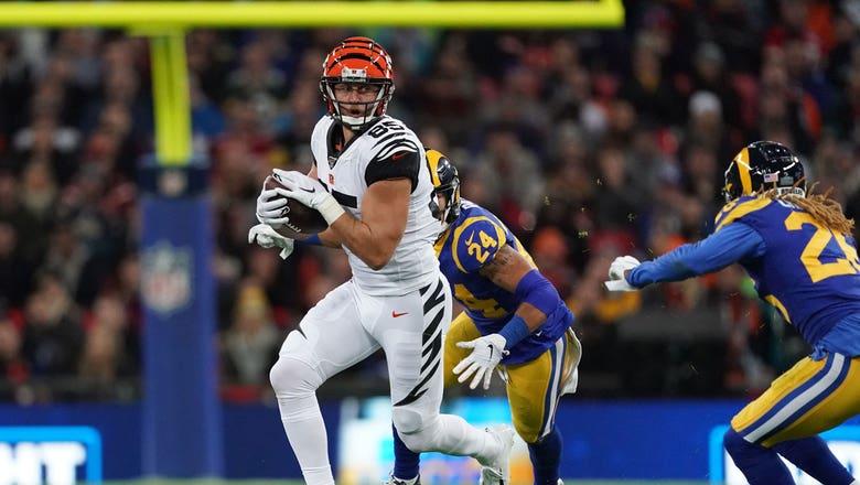 Jaguars, TE Tyler Eifert agree to 2-year contract in free agency