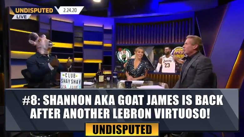 #8 Shannon aka GOAT James is back after another LeBron virtuoso | Top 10 Moments of the Year