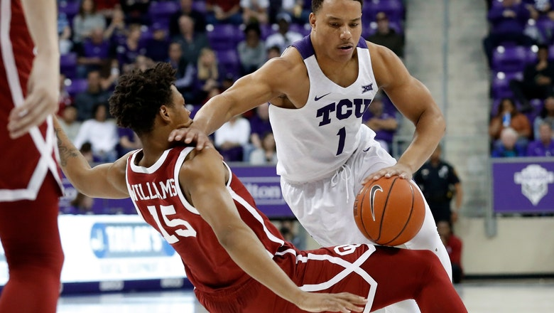 Reaves 41 points, last FG for Oklahoma in 78-76 win at TCU