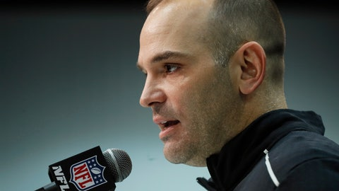 <p>               Jacksonville Jaguars general manager David Caldwell speaks during a press conference at the NFL football scouting combine in Indianapolis, Tuesday, Feb. 25, 2020. (AP Photo/Charlie Neibergall)             </p>