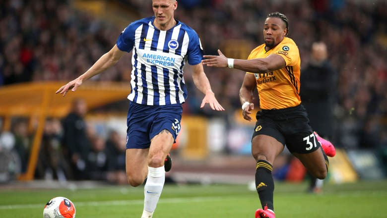 Top-4 chasing Wolves frustrated in 0-0 draw with Brighton