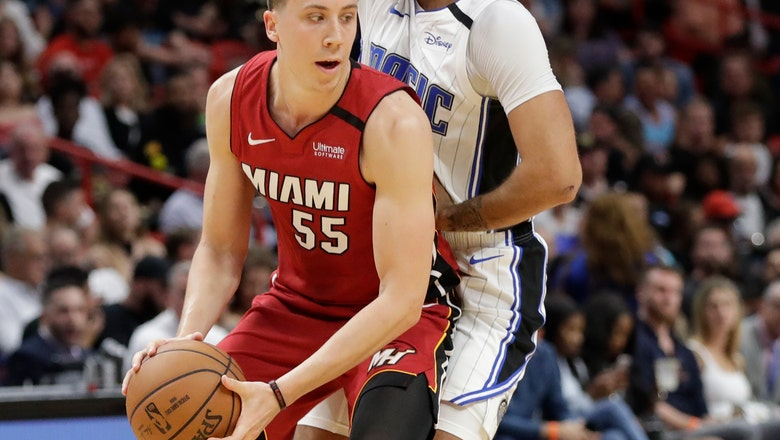 3's are wild: Heat set record from deep, top Magic 116-113