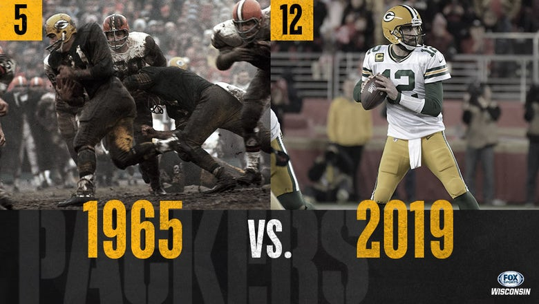 Packers all-time tournament: 1965 (5) vs. 2019 (12)