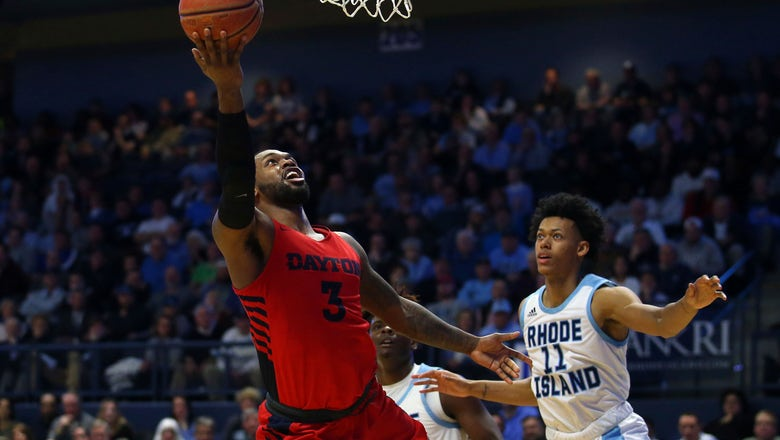 Toppin scores 20, leads No. 3 Dayton to 84-57 win over Rhody