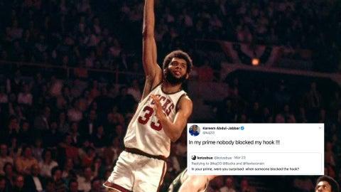 Kareem Abdul-Jabbar, former Bucks star
