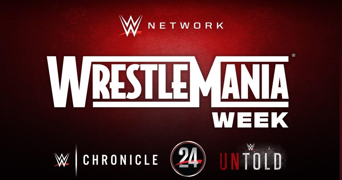 See what's streaming WrestleMania Week on WWE Network